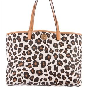 Tory Burch Kerrington Leopard Shopper